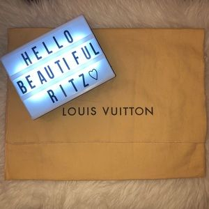 Louis Vuitton Authentic Dust bag 18 x 13 Like New